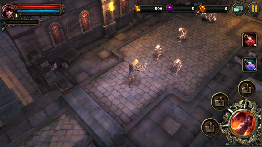 Gamevil's Hack-n-Slash Diablo-Like Dark Avenger Launches In The App Store