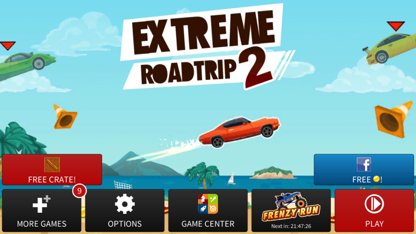 Extreme Road Trip 2 Updated Again: Adds New Missions, 'Frenzy Run' And More