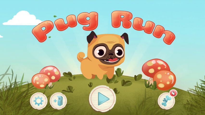 Pug Run Updated To Offer A Thank You Gift, Costumes And Daily Giveaways