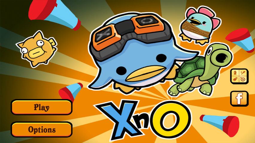 Shoot Puffer Fish Out Of A Turtle's Mouth And Rescue All The Penguins In XnO For iOS