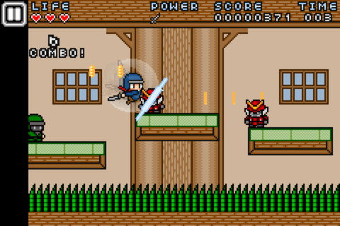 Ninja Striker! Brings 8-Bit Ninja Action To The iPhone
