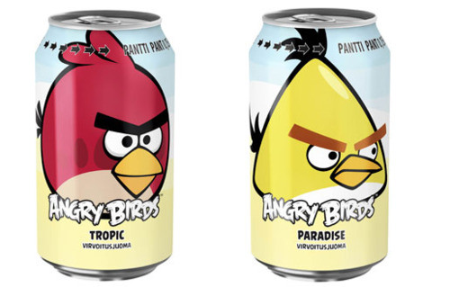 Rovio's Angry Birds Can Even Help Sell Soda