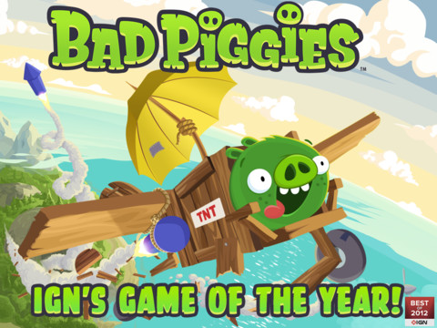 Rovio's Bad Piggies Updated To Add 15 New Sun-Drenched Levels And More