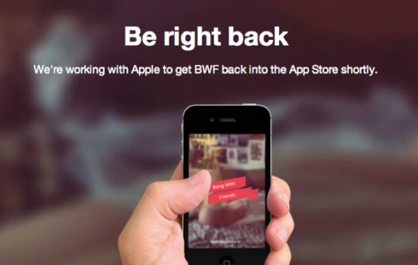 Apple Pulls Controversial Hookup Service Bang With Friends From App Store