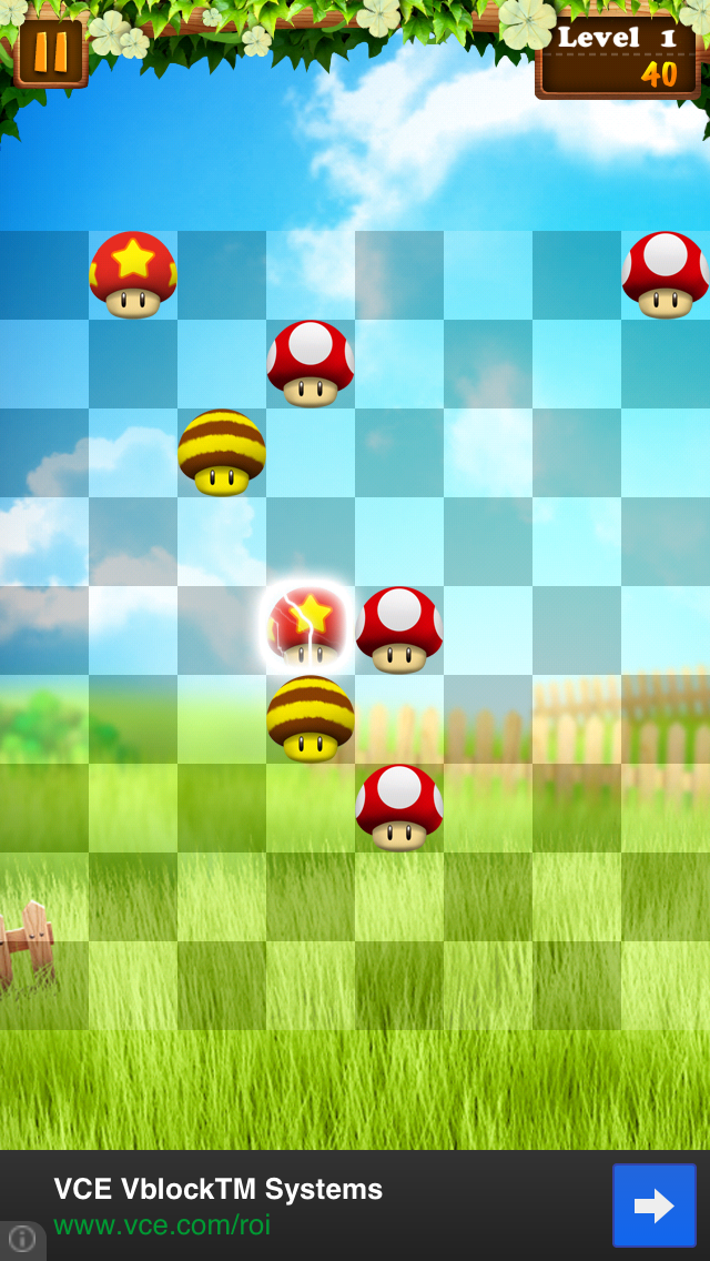 Like Mario Mushrooms And Match-Three Games? Then You'll Love Mokus Line Up