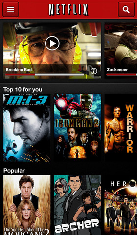 Netflix iOS App Updated: Adds 'Post-Play' Feature, Enhanced Second Screen Options