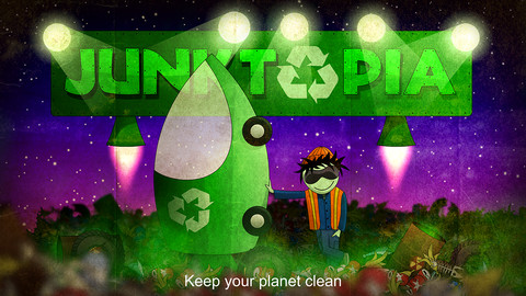 Keep The Planet Clean Of Interstellar Garbage In Junktopia For iOS
