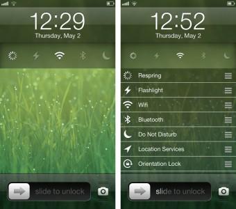 Cydia Tweak: LockScreenToggles Gets New Features In Update