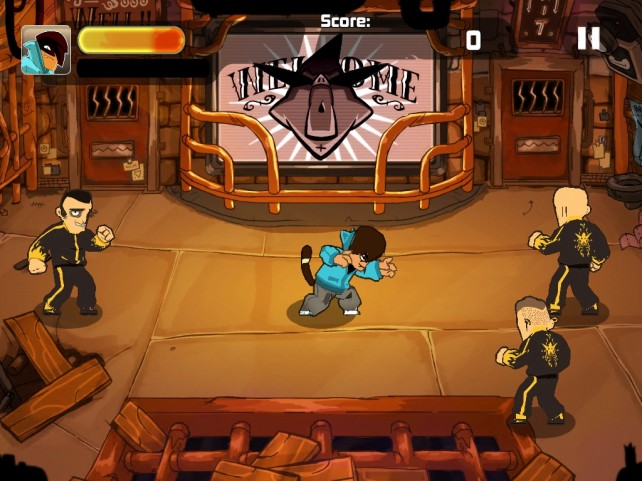 The Game Bakers' Combo Crew Is A New Gesture-Controlled Brawler Game