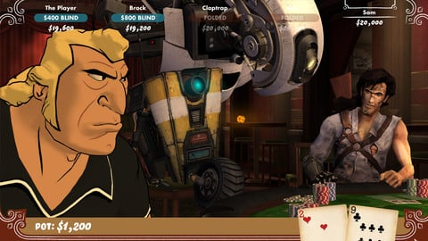 Play Against An Array Of Famous Video Game Characters In Poker Night 2