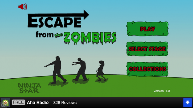 Quirky App Of The Day: Escape From The Zombies And Their Deadly Hugs