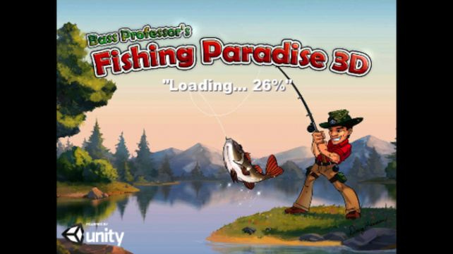 Quirky App Of The Day: Catch Some Big Game In Fishing Paradise 3D