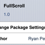 Cydia Tweak: FullScroll Gives Any App Full Screen Mode