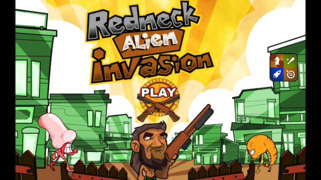 Quirky App Of The Day: Redneck Alien Invasion Has Mullets And Shotguns