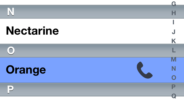 Cydia Tweak: QuickGestures Puts Android Style Gestures In The Phone And Contacts App