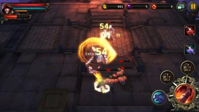 Slash-N-Hack Your Way Through Hordes Of Dungeon Monsters In Dark Avenger