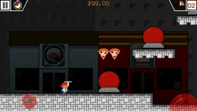 An Alien Invasion Isn't Enough To Stop This Pizza Boy From Delivering Pizzas In World 1-1