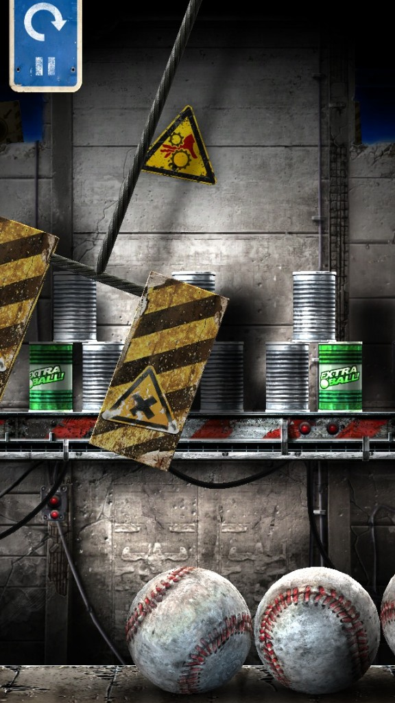 Recycle These Cans By Knocking Them Over In Can Knockdown 3
