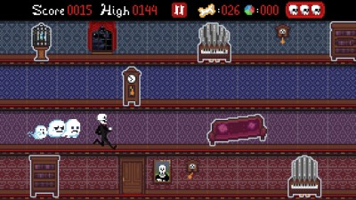 Skeletons Don't Always Get Along With Ghosts In Mansion Run