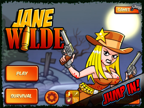 Take On The Role Of Jane Wilde And Take Down Undead Creatures In The Wild West