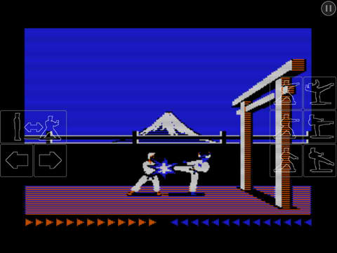 Hi-Yah! Classic Fighting Game Karateka Now On iOS In All Its Pixelated Glory