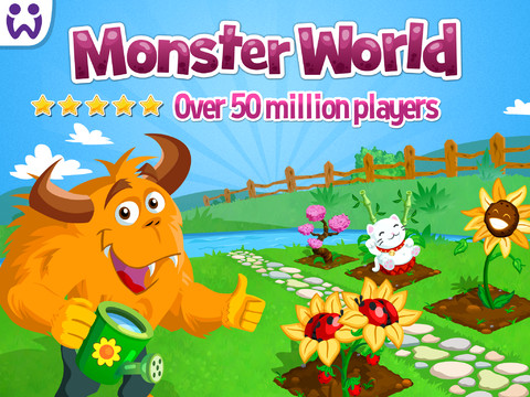 Grow Your Monster Garden With Your Game Center Friends In Monster World