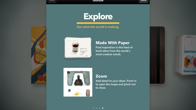 Get Inspired And Get Closer To Your Ideas With The Latest Update To Paper By FiftyThree