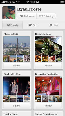 Get More Information From Product, Recipe And Movie Pins In Pinterest For iOS