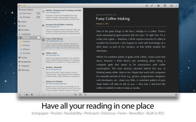 ReadKit Updated With RSS Support, Smart Folders And Other Features