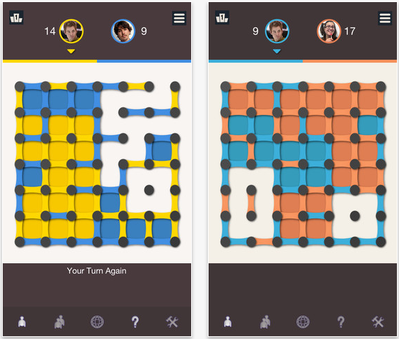 The Classic Game Goes Digital In Dots And Boxes 2013 For iOS