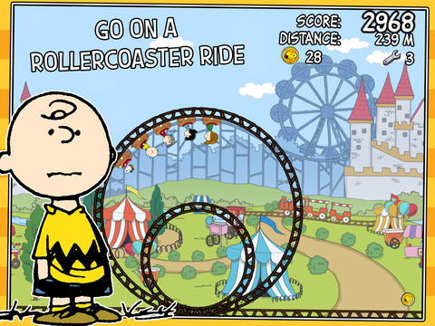 Take A Wild Ride Toward Summer With The 'Peanuts' Gang In Snoopy Coaster