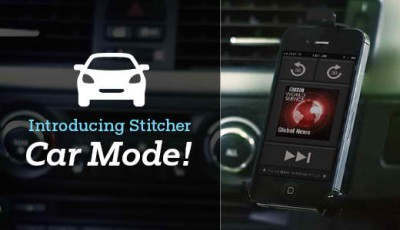 It's Now Easier To Listen To Stitcher Radio While Driving With The App's New Car Mode