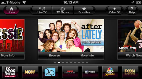 T-Mobile Launches TV And Video-On-Demand Streaming App On iOS