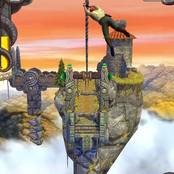 Watch Out For The New Narrow Paths And Spinning Saw Blades In Temple Run 2