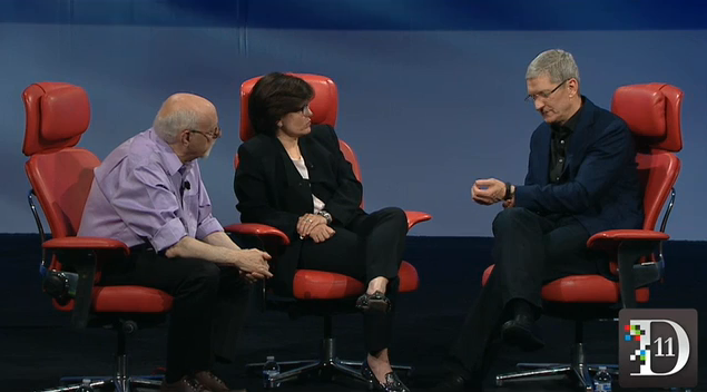 Is The iWatch Close At Hand? At D11, Apple CEO Tim Cook Says 'The Wrist Is Interesting'