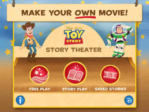 Make A Movie With Toy Story: Story Theater To Win A Disney Vacation Package