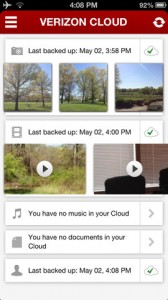 Verizon's Cloud Storage Service Now Available On iOS Through New Standalone App