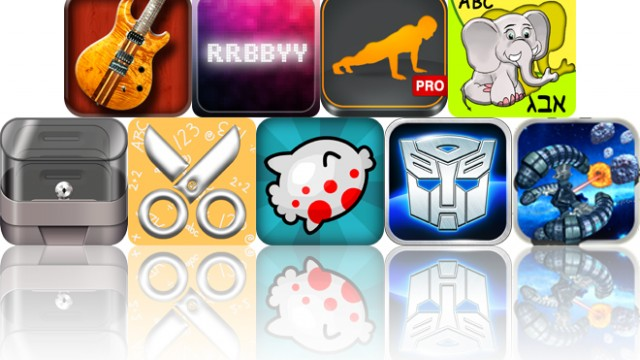Today's Apps Gone Free: Star Scales HD, RRBBYY, Runtastic Push-Ups And More