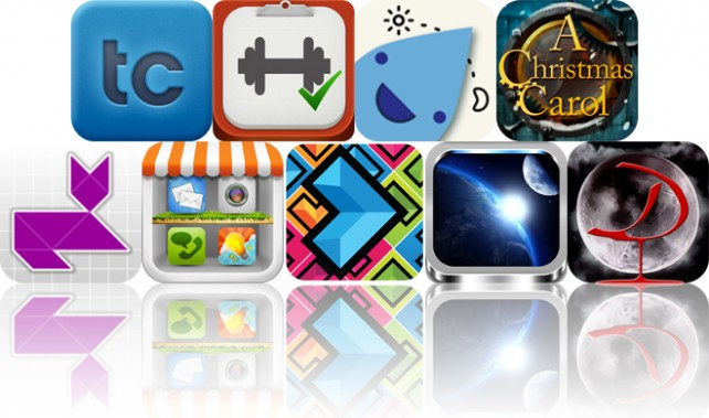 Today's Apps Gone Free: TextCrafter, Workout Plan, Drink Right And More