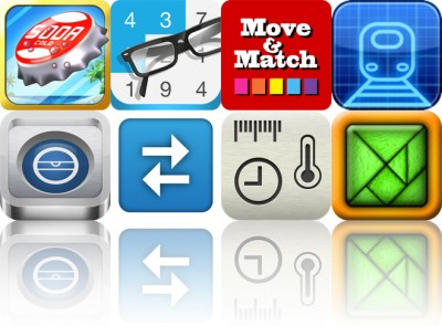 Today's Apps Gone Free: Bottle Cap Blitz, Inclusion, Move And Match And More