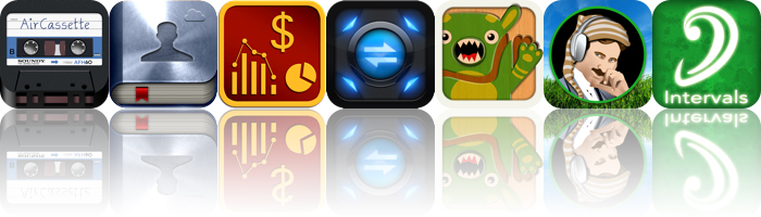 Today's Apps Gone Free: AirCassette, Savi People, ExpenSense And More