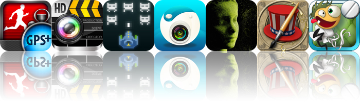 Today's Apps Gone Free: Pedometer GPS Pro, Movie360, Voxel Invaders And More