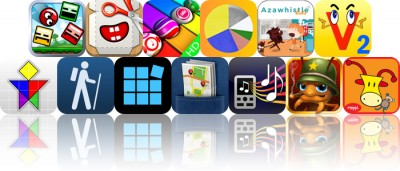 Today's Apps Gone Free: Blosics, Foldify, PianoBall And More