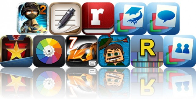 Today's Apps Gone Free: Tiny Troopers 2, TopNotes Pro, Fastr Pro And More