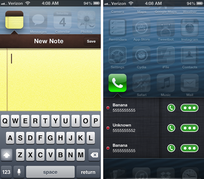 Cydia Tweak: Velox Takes App Interaction And Notifications To Another Level