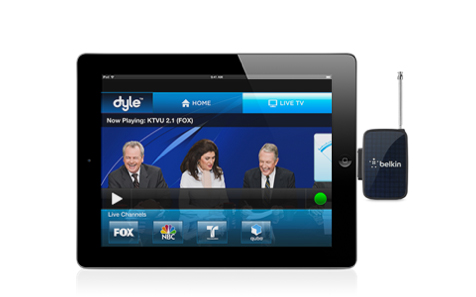 Belkin Introduces Its New Dyle Mobile TV Receiver