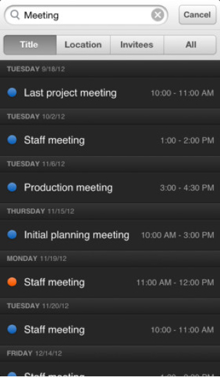 Wonderful iPhone Calendar App Fantastical Continues To Improve With A Recent Update