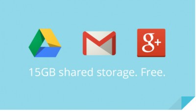 Google Now Offering 15GB Of Shared Space Between Gmail, Drive, And Google+ Photos