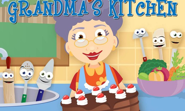 Your Kids Will Have A Great Time Cooking In Grandma's Kitchen