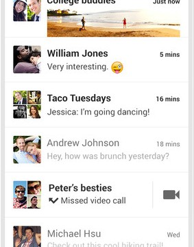 Standalone Google Hangouts App Launches For iOS Devices